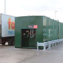 Farm Food Fuel Tank Instalation by Fuelquip