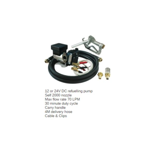 Piusi Panther DC Fuel Transfer Pump Kit – Fuel Management Systems