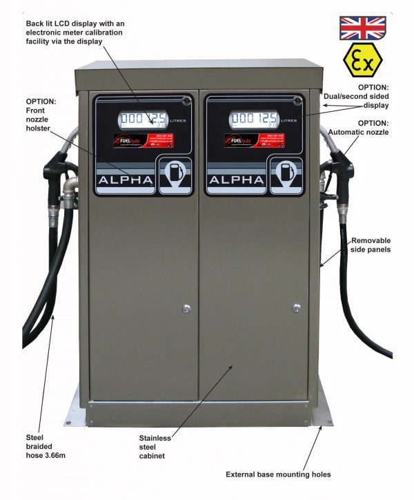 Alpha Twin Atex Fuel Dispenser