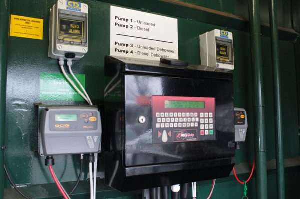 GIR Wall Box Fuel Management System in Cabinet